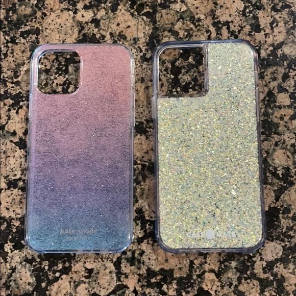 Kate Spade - Case Mate iPhone 12 Pro case set.